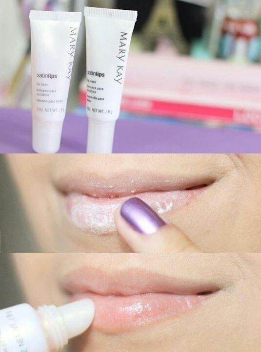 Satin lips by Mary Kay.