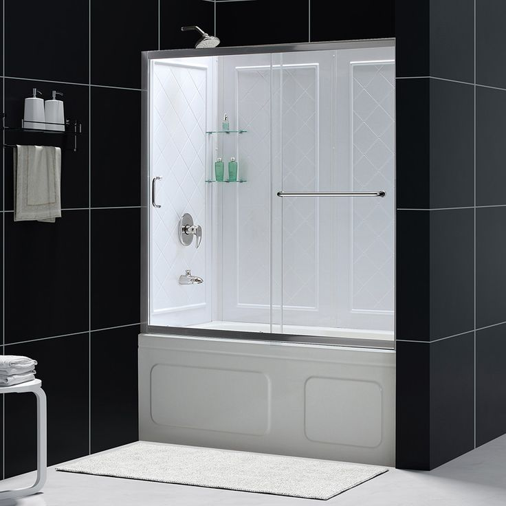 DreamLine DL699201CL InfinityZ 56 to 60 Shower