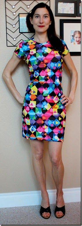 Jalie 2805 turned into a dress