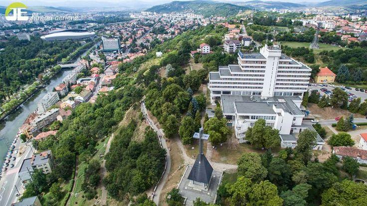 Cetățuie hill bird's-eye view  Cluj-Napoca