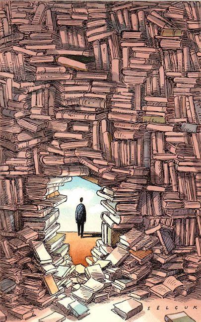 Be rebellious: reads and breaks down barriers / Selçuk Demirel