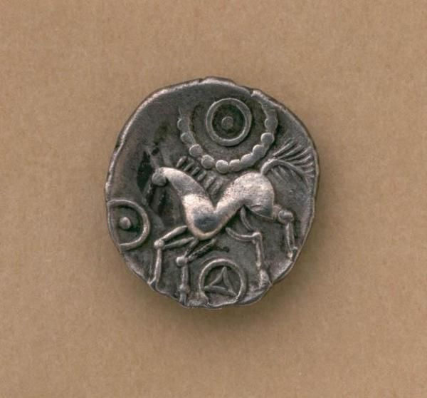 Silver Celtic Iceni unit Britain, 1st century A.D.