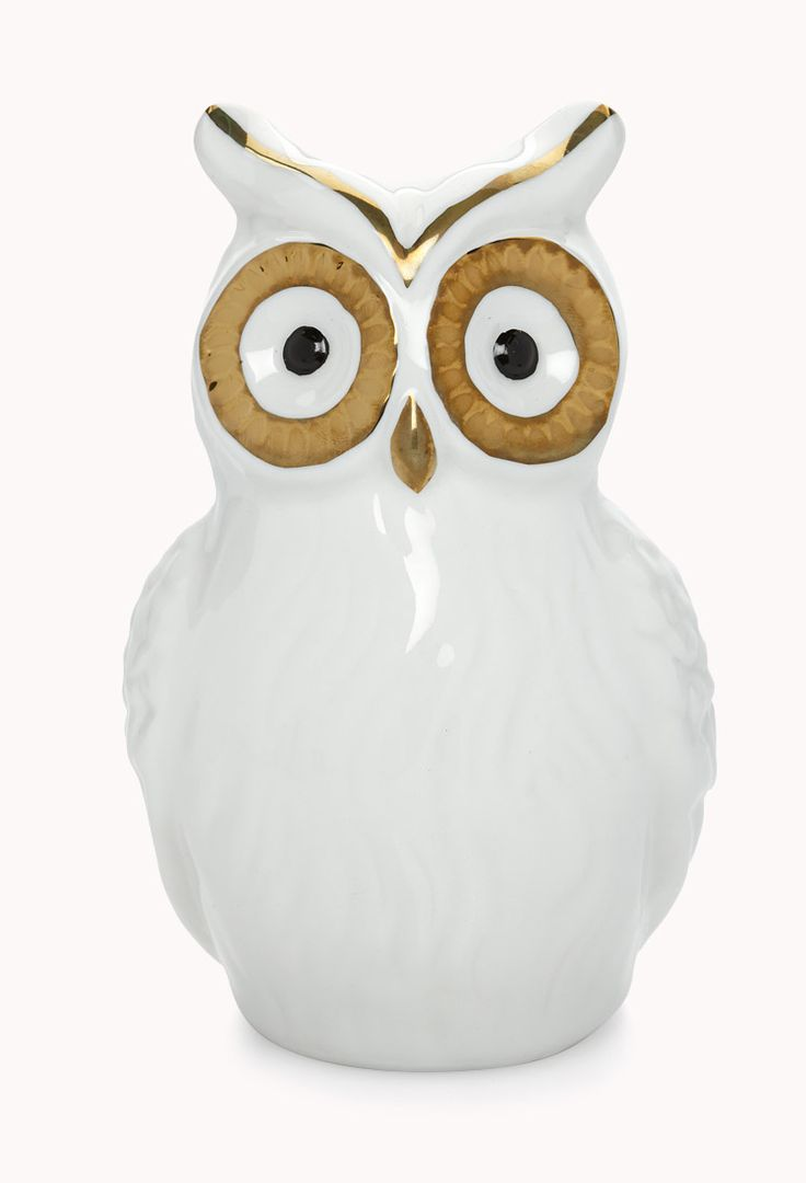 Owl Bank | FOREVER21 WHO is trying to save up for a shopping spree? #Owl #PiggyBank #Ceramic
