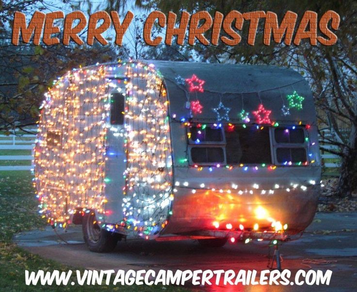 1485 best images about campers trailers and rv 39 s on for Airstream christmas decoration
