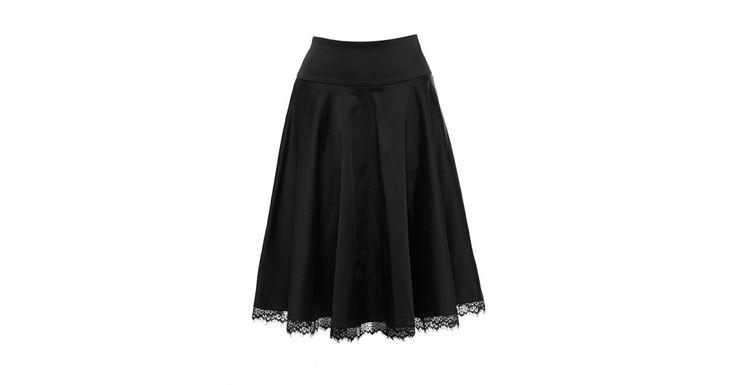 Review Australia | Love Me Full Midi Skirt Black