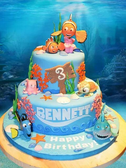 Best 25 Finding nemo cake ideas on Pinterest Nemo cake Finding