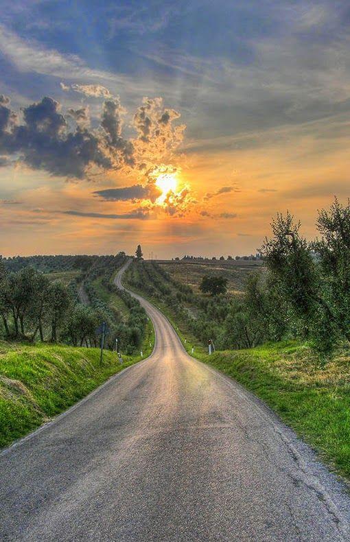 Saltafabbro Italy Sunset