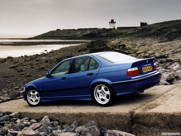 E36 BMW M3 sedan #BMW