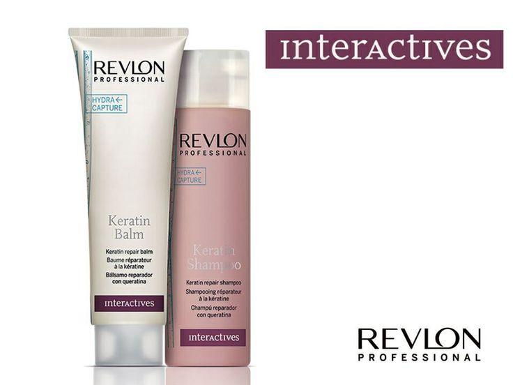 Per capelli stressati, danneggiati una soluzione efficace e veloce, interattives Keratin