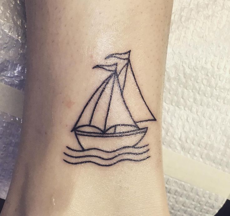 Eccezionale Best 25+ Sailboat tattoos ideas on Pinterest | Boat tattoos, Grand  MS52