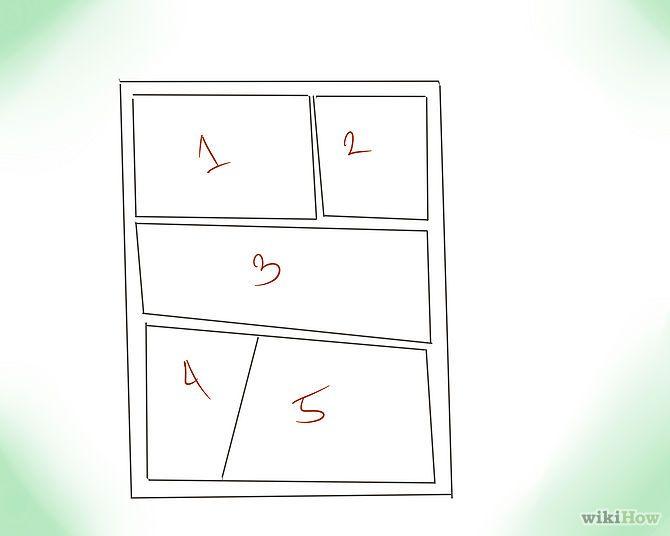 Ideas para organizar una historieta