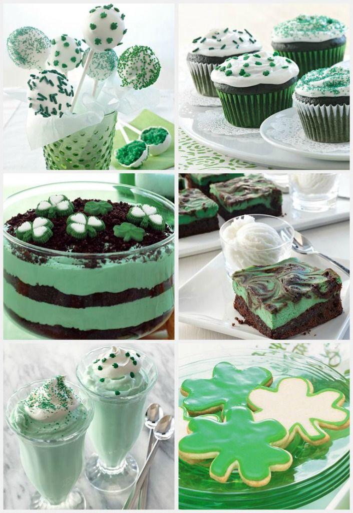 6 Easy Saint Patrick's Day Dessert Ideas! | PartyBluPrints.com
