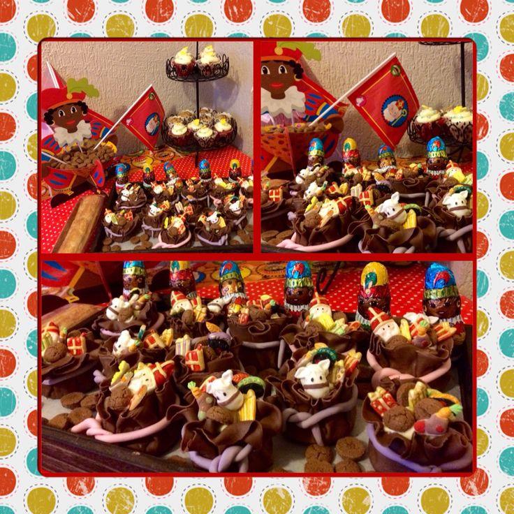 Sint Nicholas cupcakes