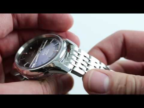 (425) Pre-Owned Omega DeVille Hour Vision Annual Calendar 431.30.41.22.06.001 Luxury Watch Review - YouTube