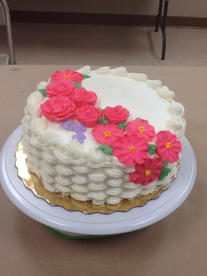Maricelis Aponte completed Course 2 - Flowers and Cake ...