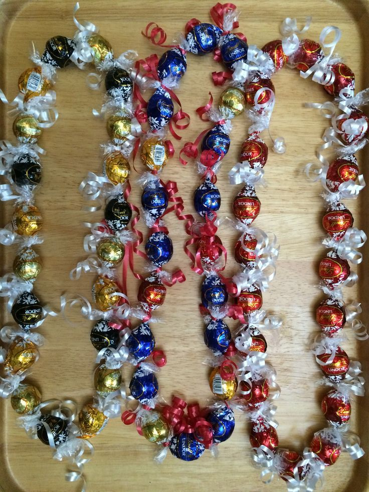 Lindt Candy Lei – #Candy #lei #Lindt