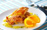 鶏肉のオレンジソース【E・レシピ】料理のプロが作る簡単レシピ/2005.07.25公開のレシピです。