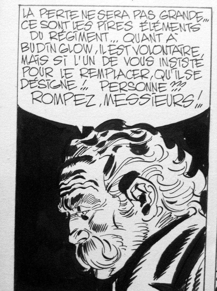 Blueberry p41 T10 par Jean Giraud, Jean Michel Charlier - Planche originale