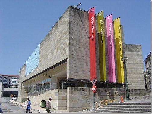 Galician Centre of Contemporary Art (CGAC), Santiago de Compostela, Spain