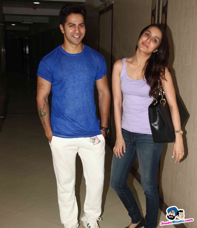 ABCD 2 Song Recording -- Varun Dhawan and Shraddha Kapoor record song for ABCD 2 Picture # 305736