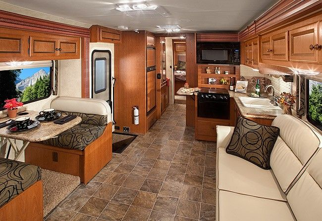 Rv Decor Rv Windsport 32d Shown Here In Baltic
