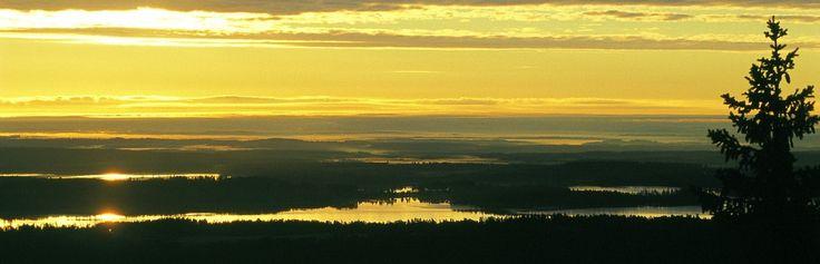 Sonnenaufgang in #Vuokatti