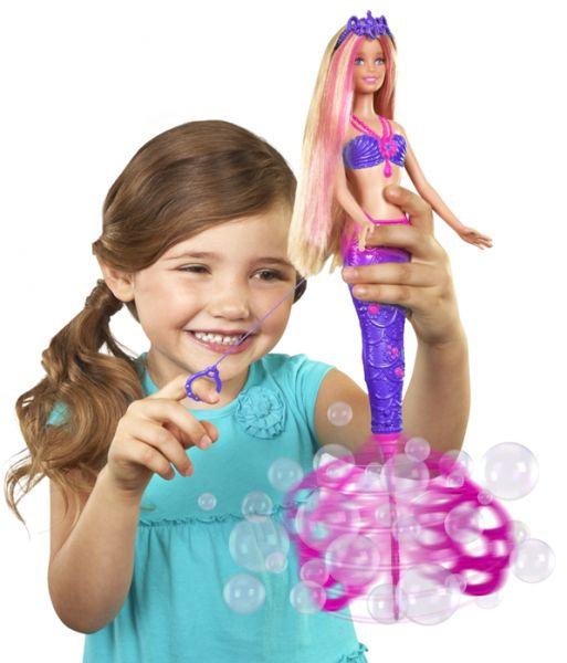 Barbie Bąbelkowa syrenka CFF49 | MALL.PL