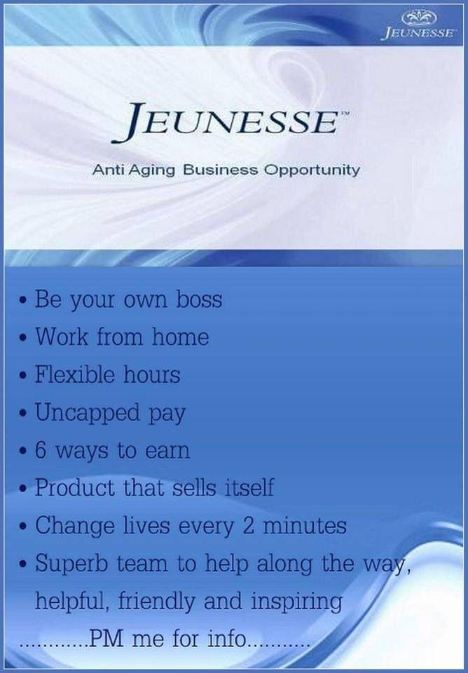 Business opportunity http://www.justglow.jeunesseglobal.com