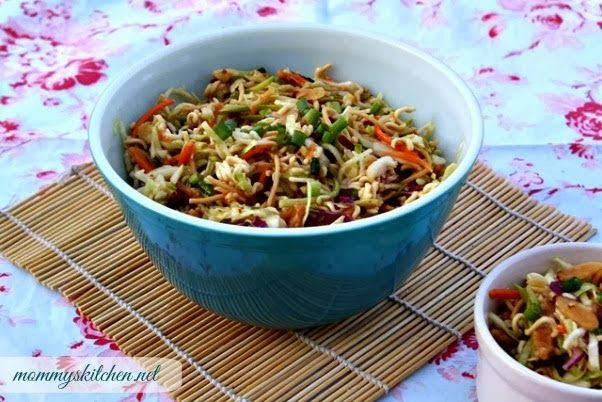 Mommy's Kitchen - Old Fashioned & Country Style Cooking: Crunchy Asain Slaw {Oriental Coleslaw}