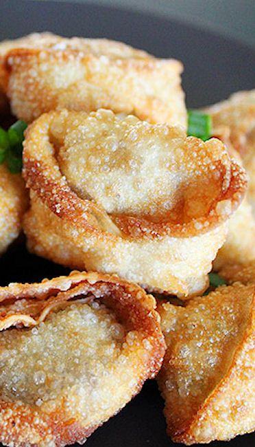 Shrimp Fried Wontons