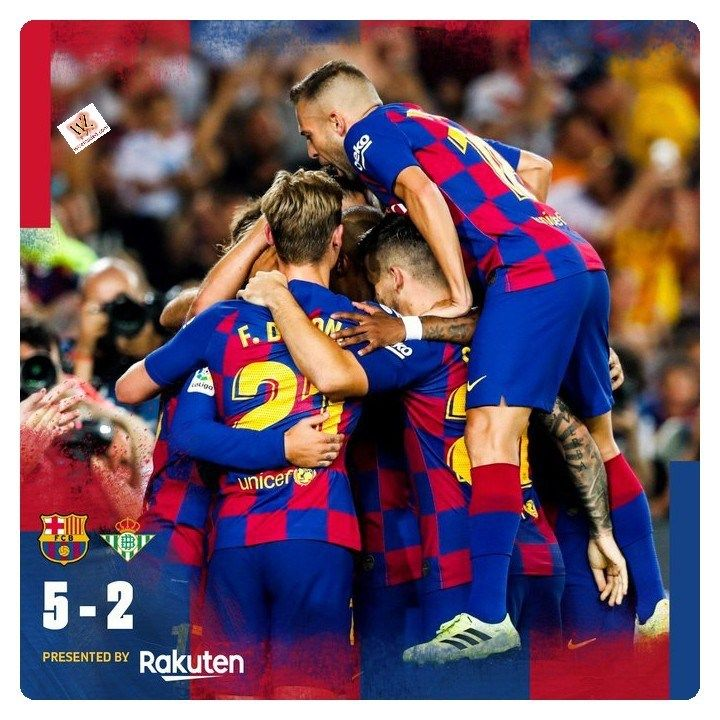 Barcelona Vs Real Betis 5 2 Highlights Download Video With