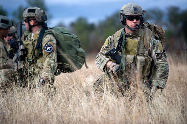 Americká armáda - Zelení bareti