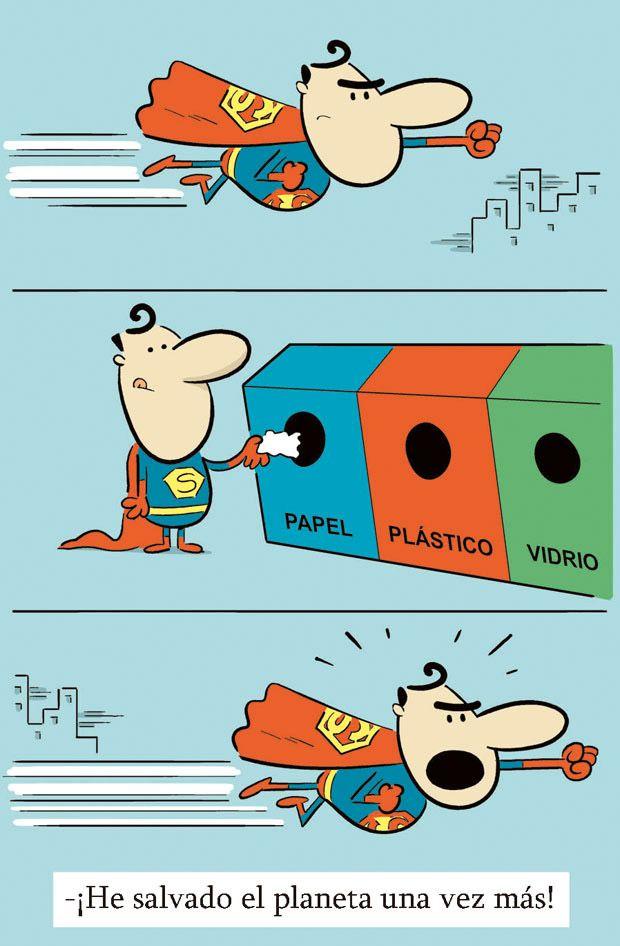He salvado el planeta. #humor #risa #graciosas #chistosas #divertidas