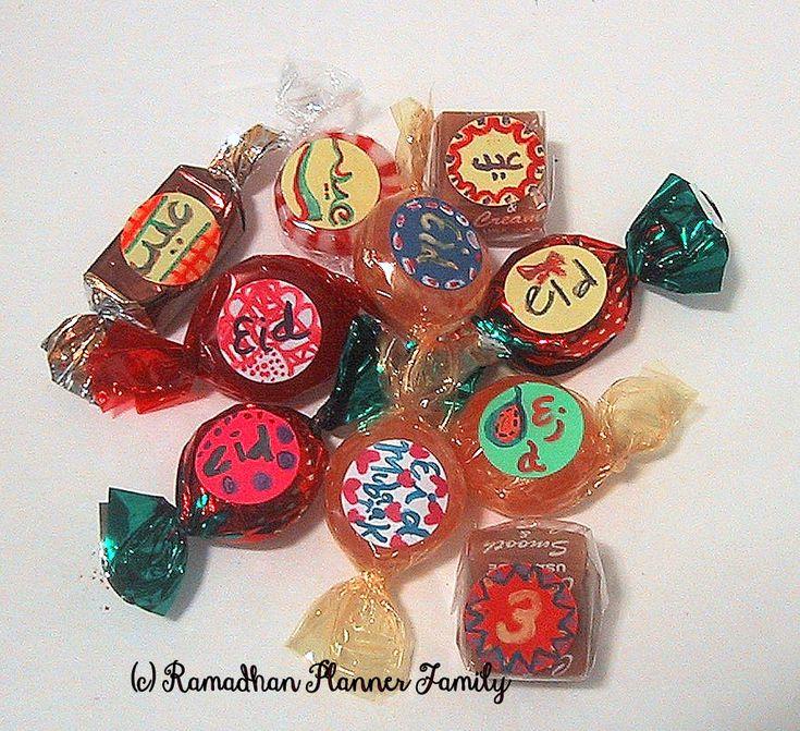 Eid Candy Decorations