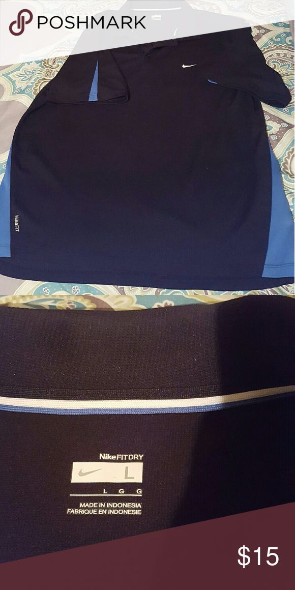 Golf Nike shirt Nike polo shirt FIT DRY. Very good condition!! Nike Shirts