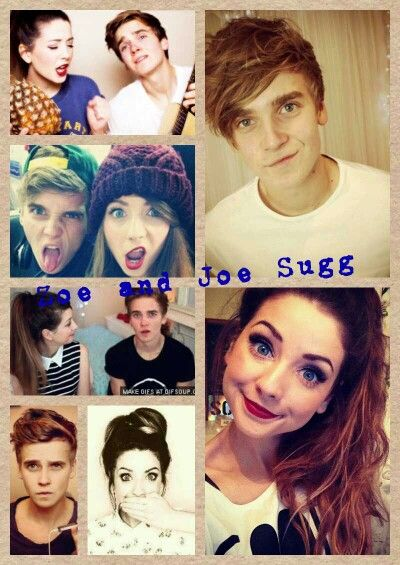 Zoella and Thatcher Joe