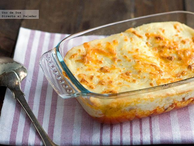 Canelones de pollo y portobello. Receta de aprovechamiento http://www.directoalpaladar.com/recetas-de-pasta/canelones-de-pollo-y-portobello-receta-de-aprovechamiento
