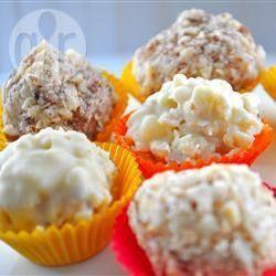 Diwali assembly: Easy recipe! Quick nariyal burfi (Indian coconut sweet) @ allrecipes.co.uk