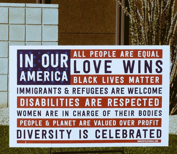 in our america yard sign - 640×480