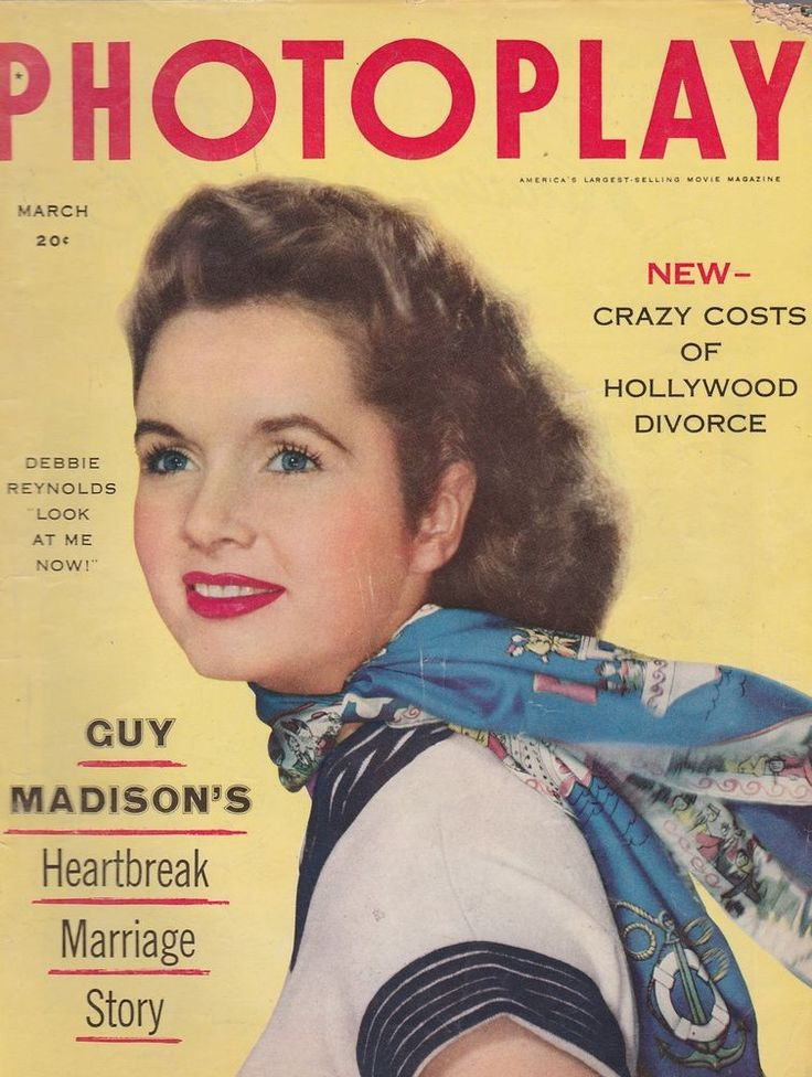 vintage movie magazines   MARCH 1954 PHOTOPLAY vintage movie magazine DEBBIE REYNOLDS   eBay