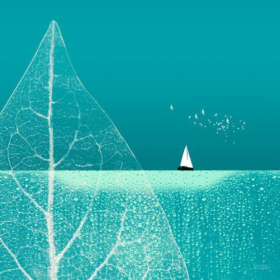 Neu in meiner Galerie bei OhMyPrints: Ocean Wonderland II-B #kunst #piaschneider #meer #segeln #kunstdrucke #art #sailing #ohmyprints