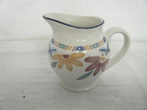 C4-Pottery-Staffordshire-Bolero-Milk-Jug-13x10-5cm-7D6A 60 kr