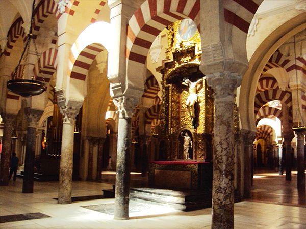 Mezquita de Cordoue Andalousie