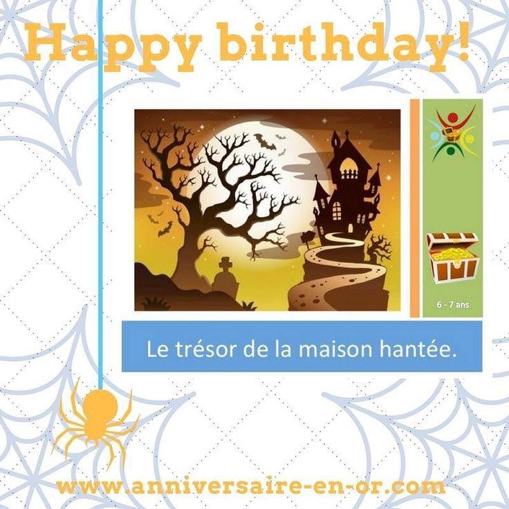 Un trésor est caché dans une vieille maison hantée!!! Croyez-vous que vous serez capable de le retrouver? www.anniversaire-en-or.com #anniversaire #jeu #enquete #enfant #chasseautresor #treasurehunt #tresor #children #birthday #party #maisonhantee #game #happybirthday #joyeuxanniversaire #investigation #fantome #effrayant