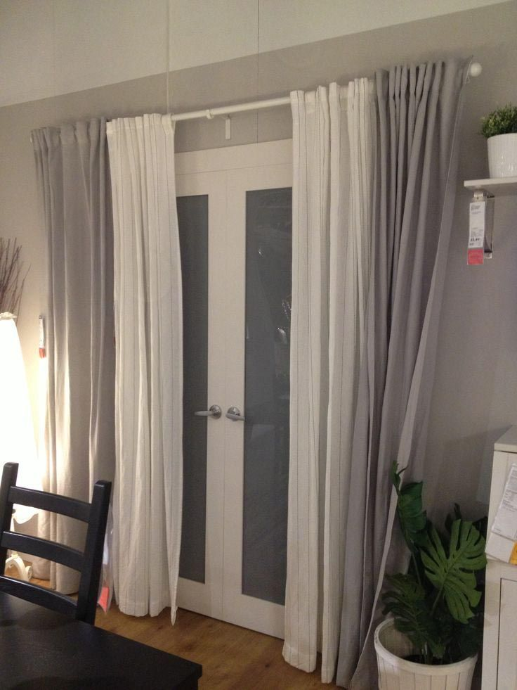 Back Patio Door Curtains