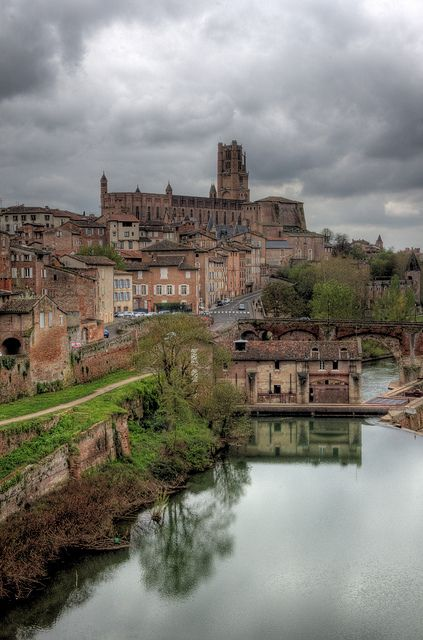 Albi, France Old Town Reflections