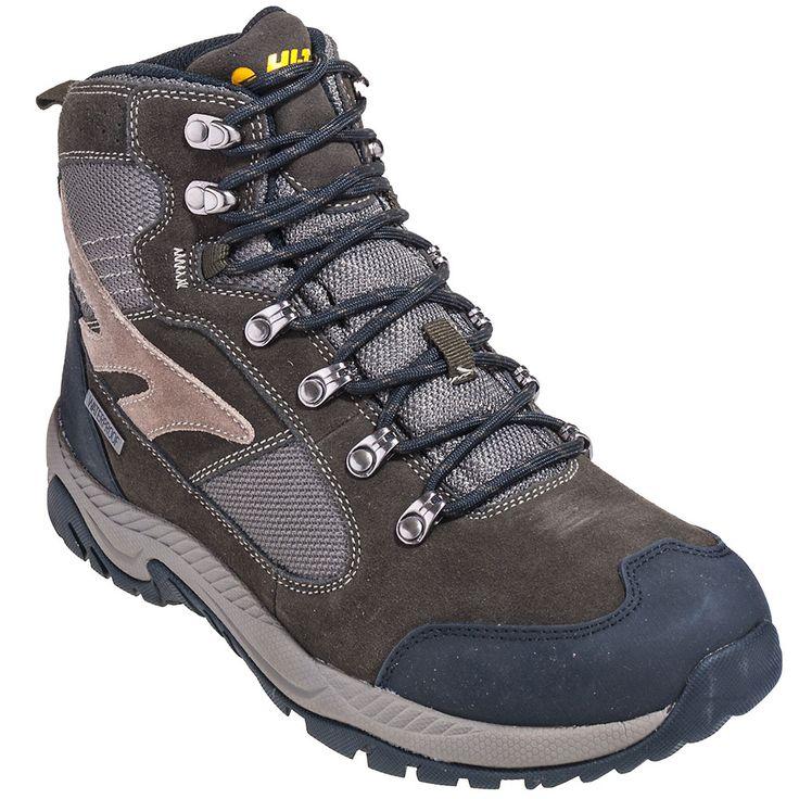 Hi-Tec Boots 52066 Mens Deco Mid Waterproof Hiking Boots