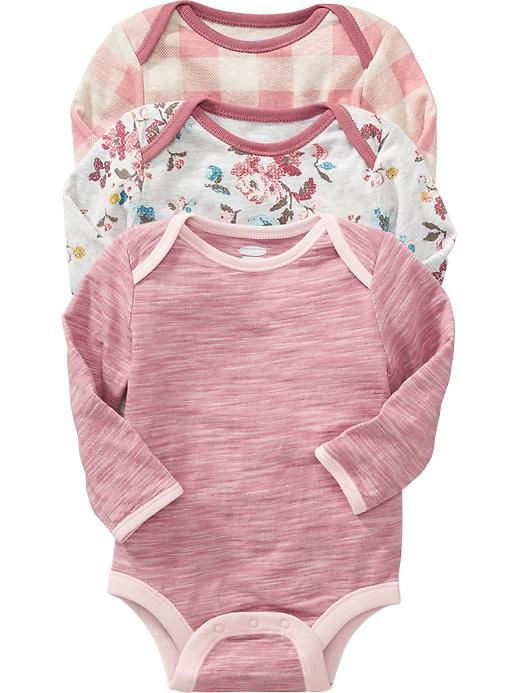 Bodysuit 3-Packs for Baby Product Image