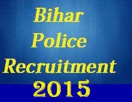 Bihar Police Recruitment 2015