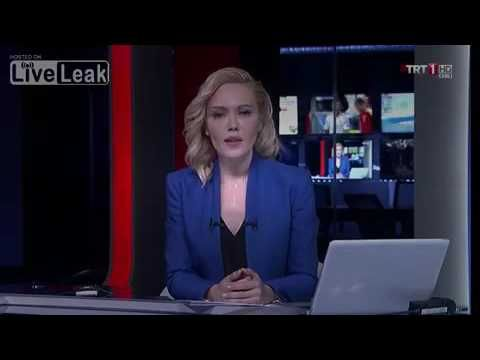 Turkish Army during the Coup Attempt forced the newscaster of TRT channel to read the coup's announcement on air. Later the journalist said that she couldn't do something else, as she read it under the threat of a military gun!